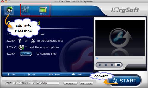 Free mac flash slideshow maker make a video slideshow to web