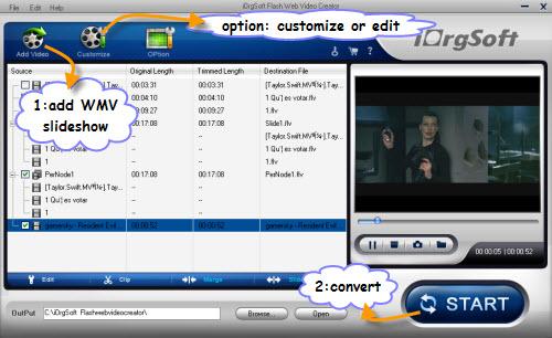 make flash slideshow