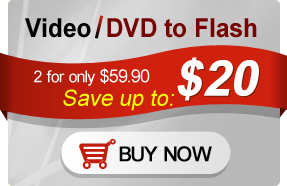 Mac Video/DVD to Flash