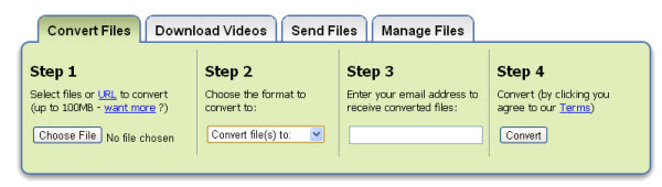 convert pdf to word using zamzar