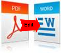 how to edit pdf files in ms word document flexibly mac