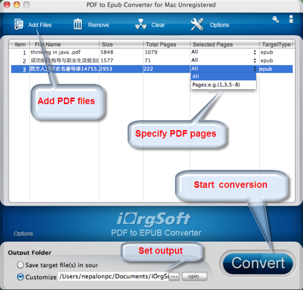 iorgsoft pdf to epub converter mac