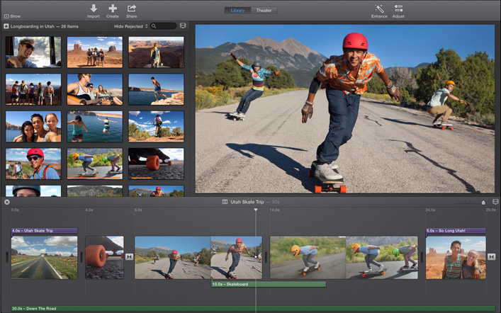 iMovie for Mac VS iMovie for iOS