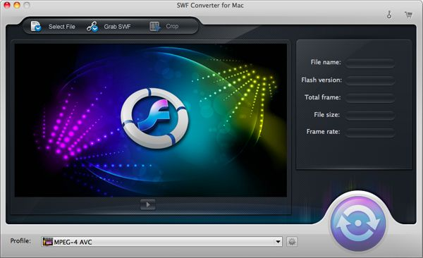 iOrgsoft SWF Converter for Mac