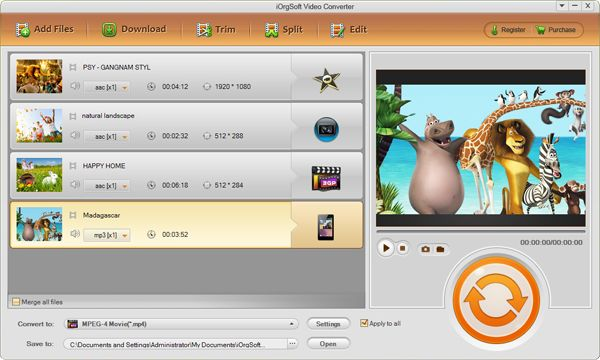 Xvid to FLV Converter