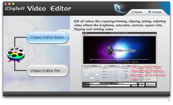 rotate/flip MPEG, DivX, MOV, 3GP videos on mac with Video Rotate & Video flip