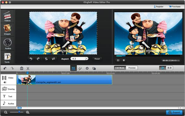 How to flip video with imovie flip the video horizontally crop video ccuart Images