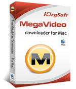 iOrgsoft Free MegaVideo Downloader for Mac