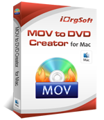 MOV to DVD Creator for Mac