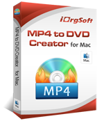 MP4 to DVD Creator for Mac