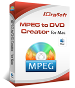 MPEG to DVD Creator for Mac