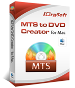 Mac MTS to DVD creator
