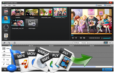 iOrgsoft Video Editor, easy video editing software for