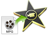How to import MPG to iMovie for editing