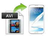 How to play AVI Files on Samsung Galaxy Note 3/2