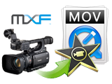 MXF to MOV, Fast Convert/import Canon XF MXF to MOV iMovie