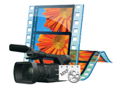 Import/convert Panasonic P2 MXF to AVI, WMV for Windows Movie Maker