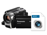 How to edit/convert/upload Panasonic SDR-S26 camcorder videos?