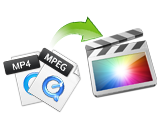 mp4 import FCP, convert/import/mpeg-4(.mp4) file into FCP (Final Cut Pro) on Mac OSX