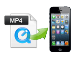 How do I play any MP4 files on iPhone