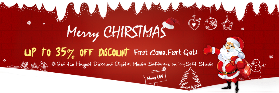 Discount, Bundle Sale, Promotion of iOrgSoft Video/Audio/PDF/Flash ...