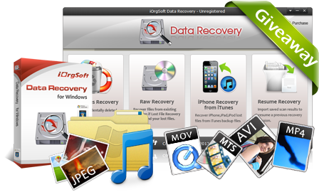 """免费获取 iOrgsoft Data Recovery 数据恢复软件丨""""反""""斗限免"""